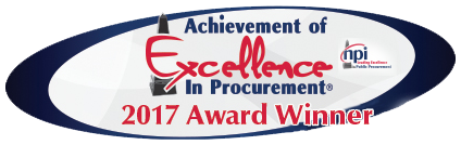 Excellence in Procurement 2017 Award