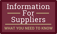 Information For Suppliers