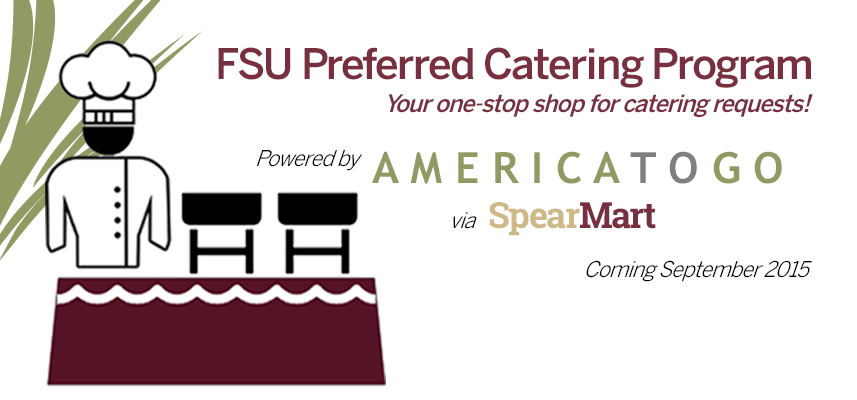 America To Go Catering Banner