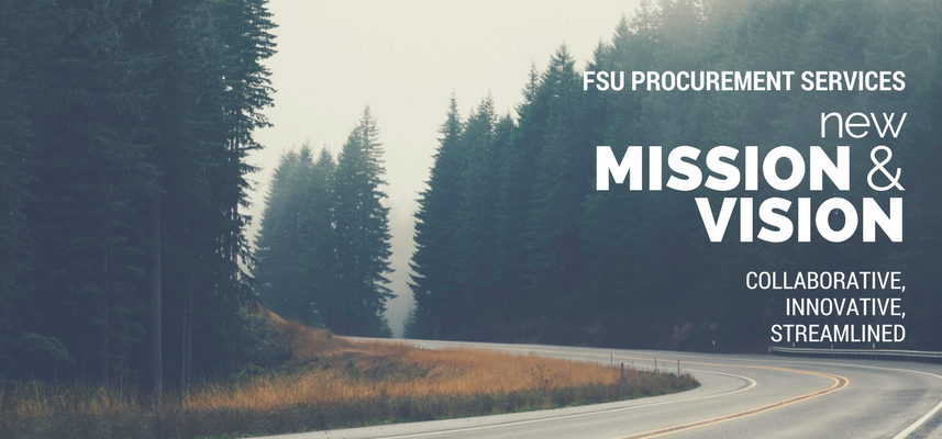 FSU Procurement Services - New Mission & Vision